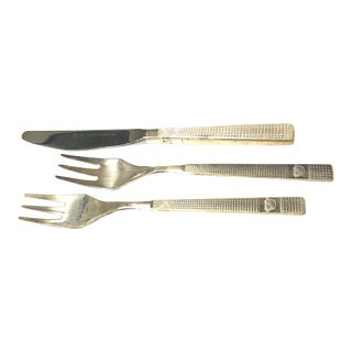 British Airways Flatware Lunch Set - Set of 3