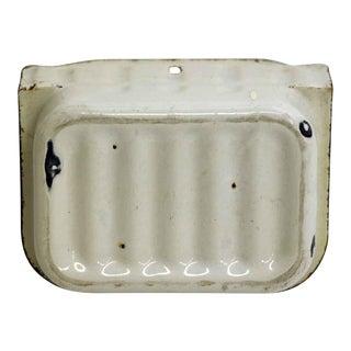 Sheet Metal Vintage Wall Mount Soap Holder For Sale