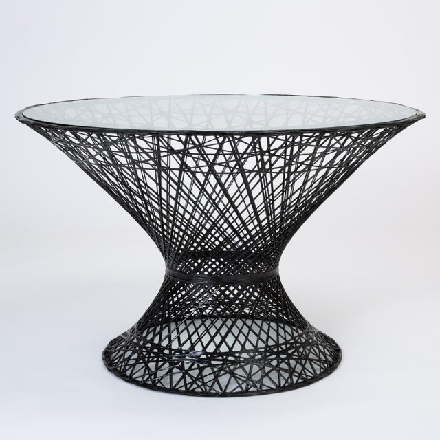 Spun Fiberglass Patio Dining Table by Woodard Furniture For Sale In Los Angeles - Image 6 of 7
