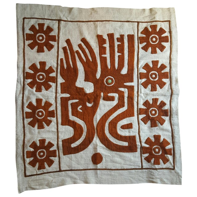 Tribal Textile Wall Hanging - Image 1 of 3
