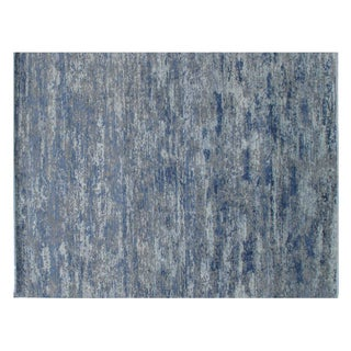 """Stark Studio Rugs Traditional Oriental Wool, Viscose and Cotton Rug - 9'1"""" X 11'10"""" For Sale"""