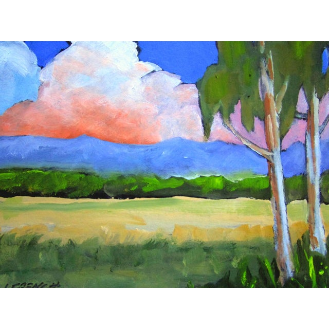Salinas Valley California Eucalyptus Summer Clouds Landscape Lynne French For Sale - Image 4 of 6