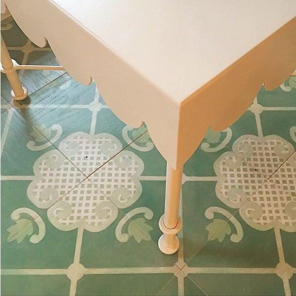 Contemporary Celerie Kemble Folly Hardwood Tile - Sample Tile For Sale - Image 3 of 6