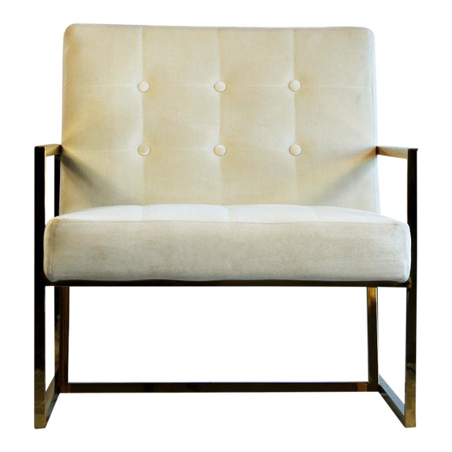 Metal Pasargad DC Millan Collection Leisure Chair For Sale - Image 7 of 7