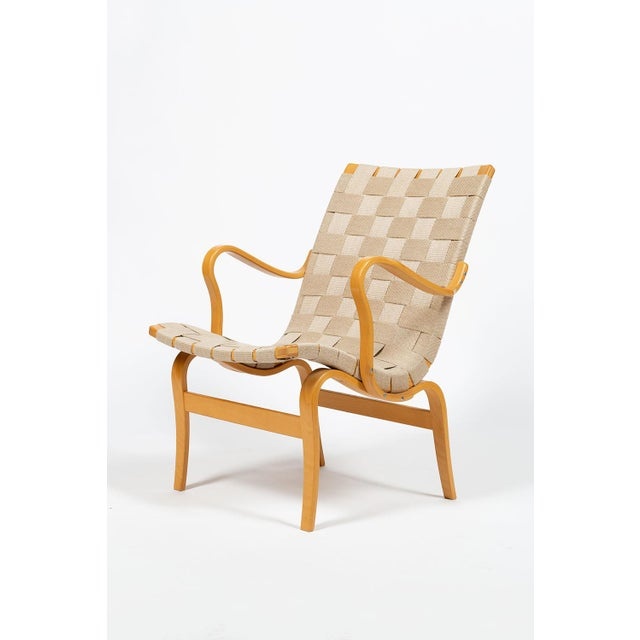 Mid-Century Modern Bruno Mathsson Eva Chairs For Sale - Image 3 of 13