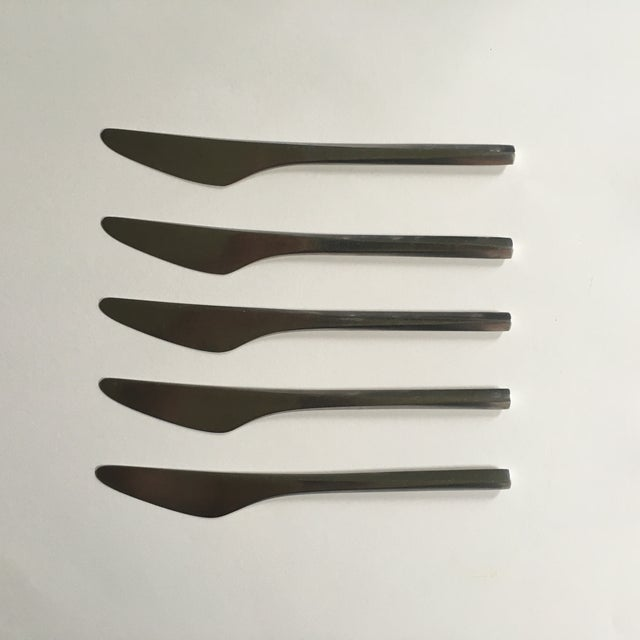 George Jensen Prism Stainless Knives - Set of 5 - Image 2 of 5
