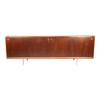 George Nelson for Herman Miller Walnut Executive Office Group Credenza For Sale