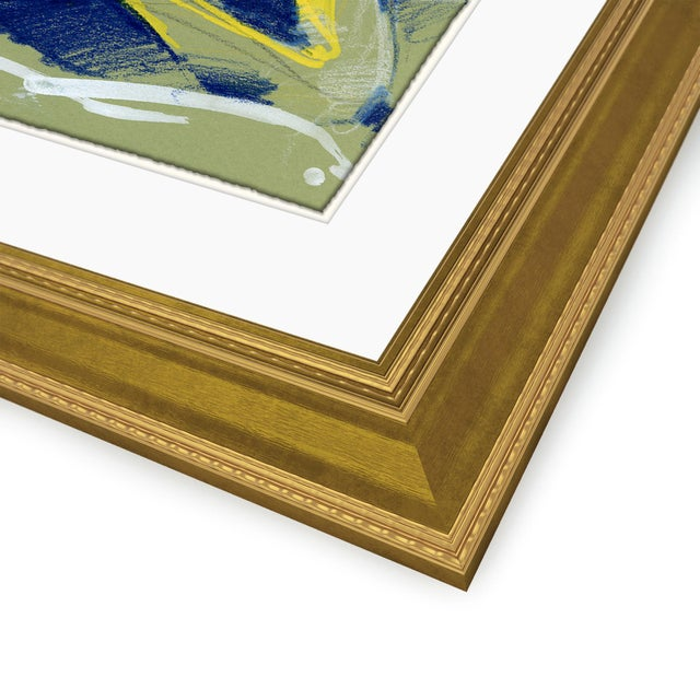 David Orrin Smith Figure Horitzontal, Set of 4 by David Orrin Smith in Gold Frame, Small Art Print For Sale - Image 4 of 7