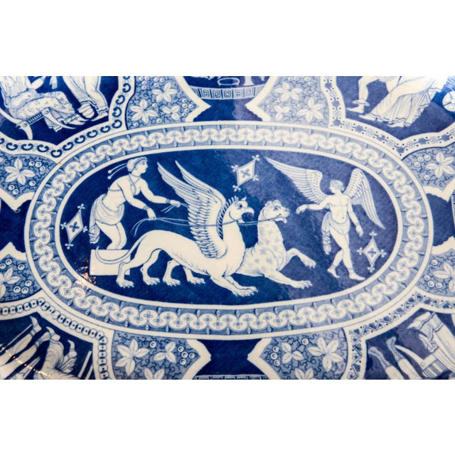 """Two Large Spode """"Greek"""" Platters, England, Early 19th Century For Sale In Miami - Image 6 of 9"""