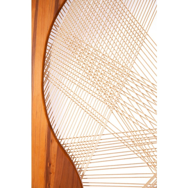 Allen Ditson Walnut Iron & Cord Guitar Screen For Sale In Phoenix - Image 6 of 7
