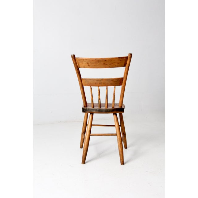 Antique Primitive Chair For Sale - Image 9 of 10