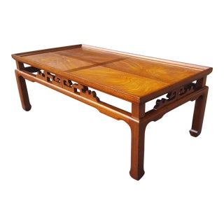 Lane Mid-Century Chinese Modern Coffee Table - James Mont Style