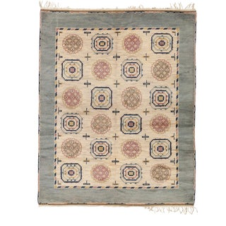 Mid 20th Century Swedish Pile Rug by Ab Mmf For Sale