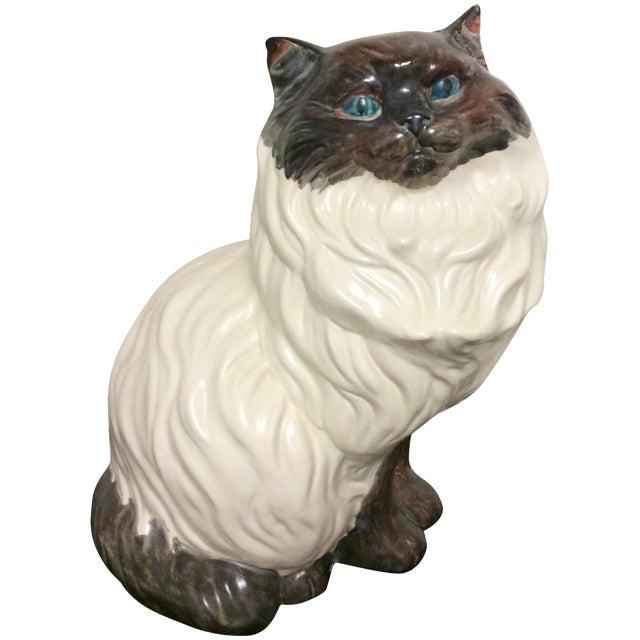 Antique Porcelain Cat - Image 1 of 9