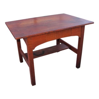 1900s Arts and Crafts L&jG Stickley Library Table For Sale