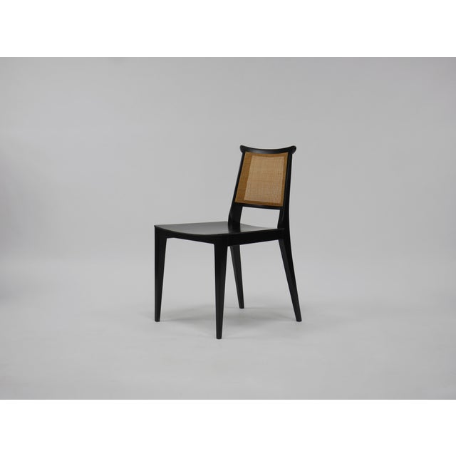 Dunbar Furniture Twelve Asian Dining Chairs by Edward Wormley for Dunbar For Sale - Image 4 of 11