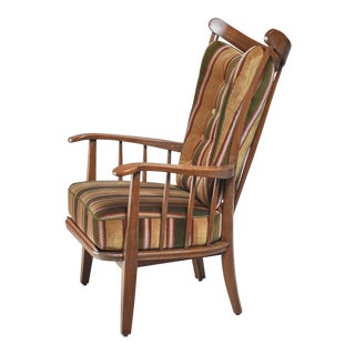 Rare Wood Craft Chair, German, 1930s For Sale