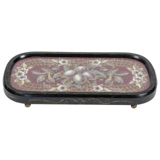 Antique Eastlake Wood Tray, Circa 1850-1880 For Sale