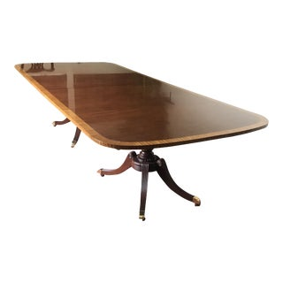 "Baker Furniture Vintage ""Collections Edition"" Rectangular Conference Table/ Dining Table For Sale"