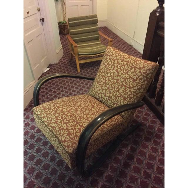 "Jindrich Halabala Art Deco ""H269"" Chair - Image 4 of 5"