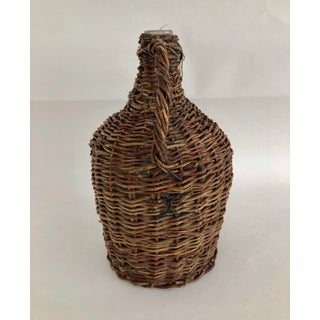 French Wicker Wrapped Demijohn Preview