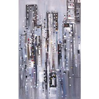 "Ekaterina Ermilkina ""Big Structures"" Original Painting For Sale"