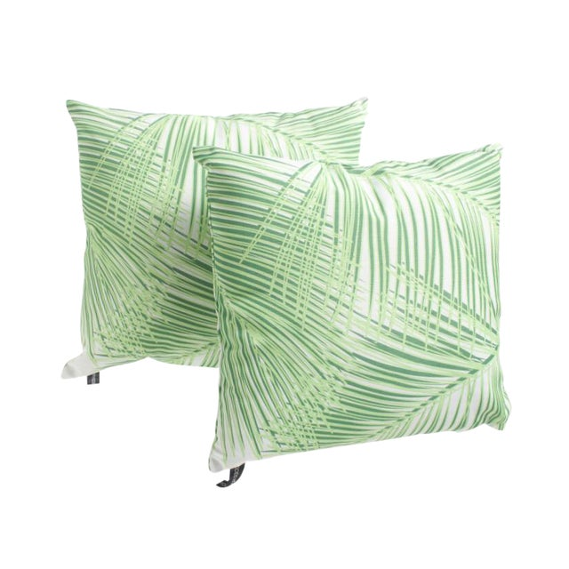 Breezy Palms Outdoor Pillow - A Pair - Image 1 of 2
