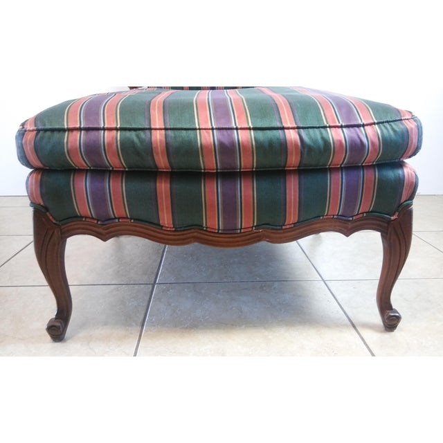 Louis XV Style French Provincial Chaise Lounge For Sale - Image 6 of 11