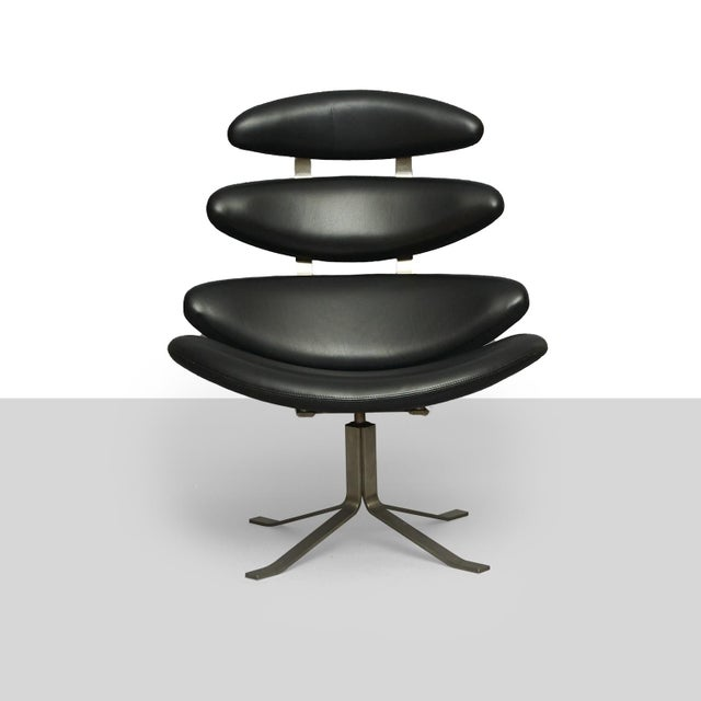 Danish Modern poul m volther Corona chair For Sale - Image 3 of 8