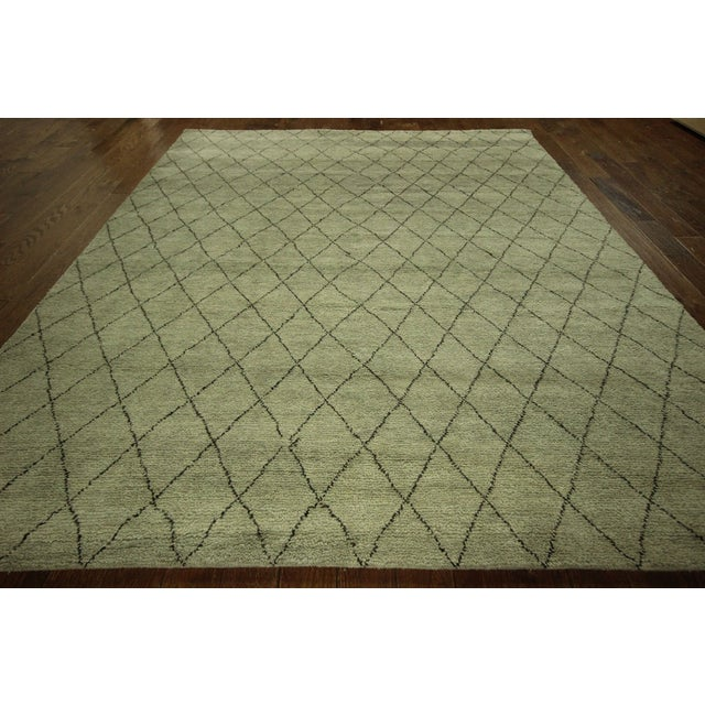 "Moroccan Berber Collection Rug - 8'1"" x 10' - Image 3 of 9"