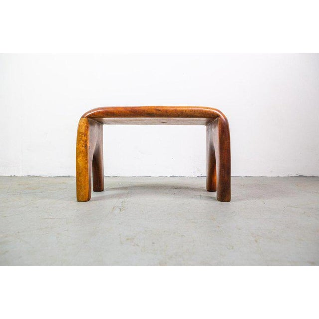Don Shoemaker Handcrafted Studio Stool or Bench by Mexican Mid-Century Modernist Don Shoemaker For Sale - Image 4 of 8