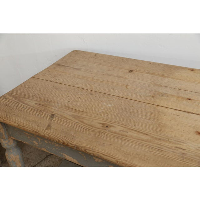 Early 19th Century Massive French Drapers Table For Sale - Image 5 of 11