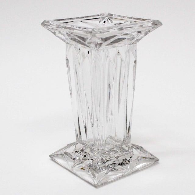 Crystal Square Bud Vase Chairish