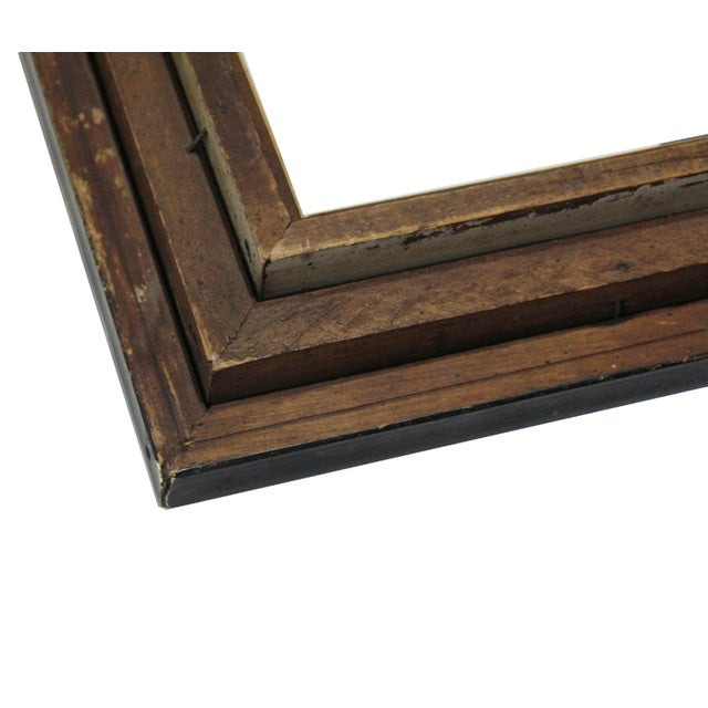 Antique American Ebonized Wood Frame - Image 4 of 5