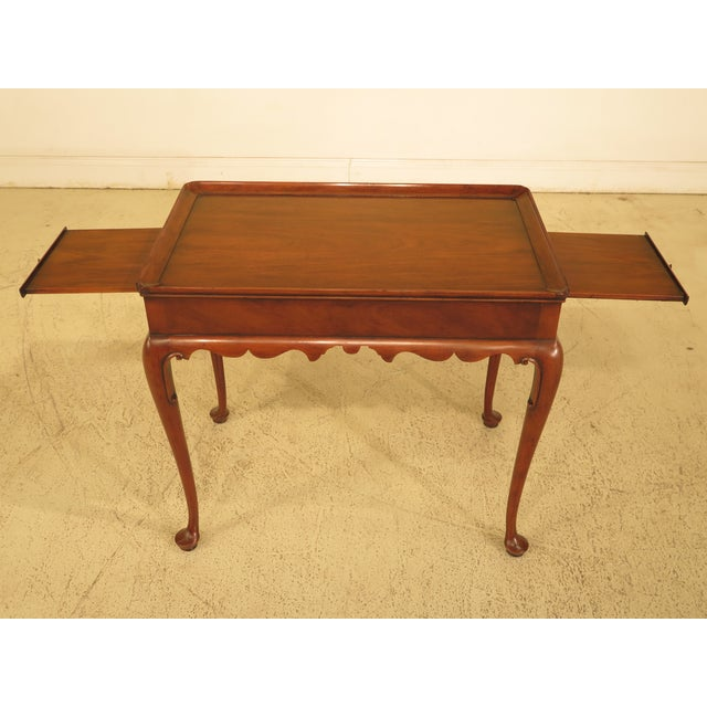 Kittinger Colonial Williamsburg Mahogany Tea Table - Image 3 of 11