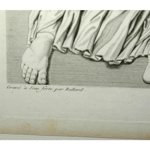 White Early 19th Century Prints of the Louvre by Baltard - Set of 4 For Sale - Image 8 of 10