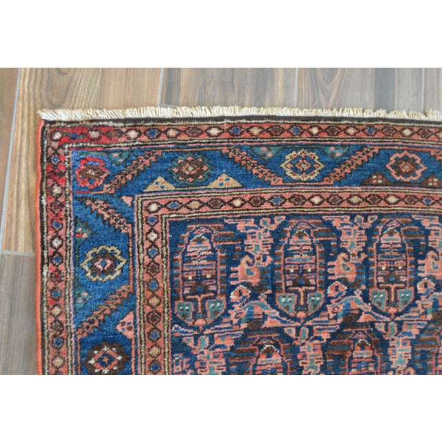 """Paisley Antique Persian Malayer Rug - 3'10"""" X 6'4"""" - Image 4 of 8"""