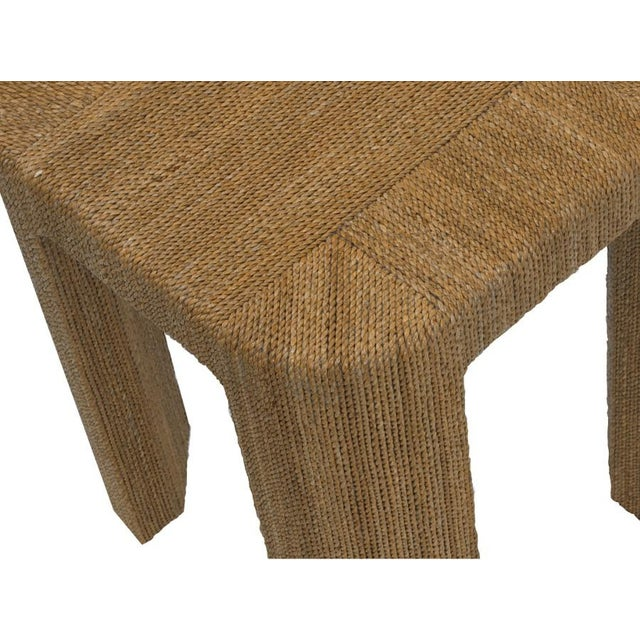 Simple and smart, so perfect for casual living, the Corso End Table is covered with rope. The craftsmanship is pristine...