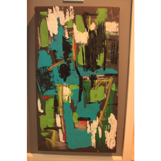 """2017 """"BU 4"""" Abstract Acrylic Painting For Sale - Image 10 of 10"""