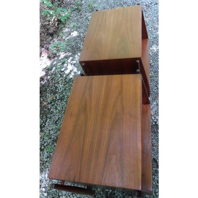 Kipp Stewart for Drexel Declaration Nightstands - A Pair For Sale In Nashville - Image 6 of 10
