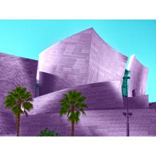 Disney Concert Hall Limited Edition Print For Sale