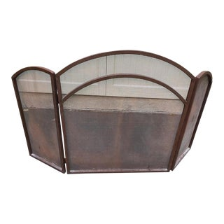 Iron & Steel Fireplace Screen