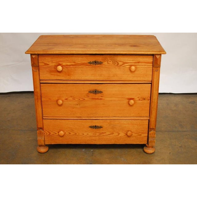 19th Century French Pine Commode - Image 2 of 7