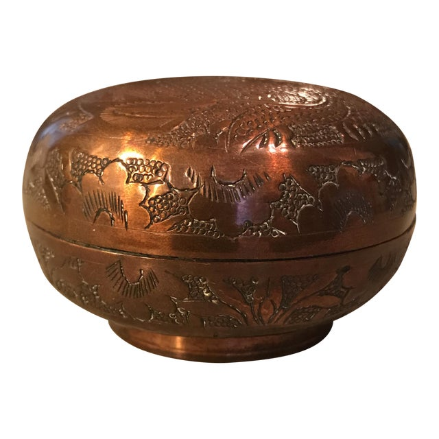 Chinese Copper Dragon Trinket Box - Image 1 of 11