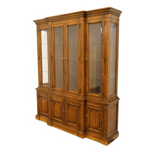 Walnut Italian Neoclassical China Cabinet Preview