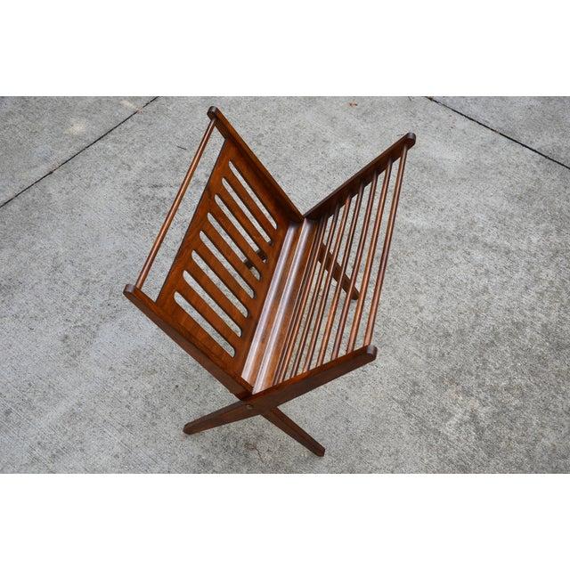 Astonishing Folding Mid Century Magazine Rack By Nevco Yugoslavia Onthecornerstone Fun Painted Chair Ideas Images Onthecornerstoneorg