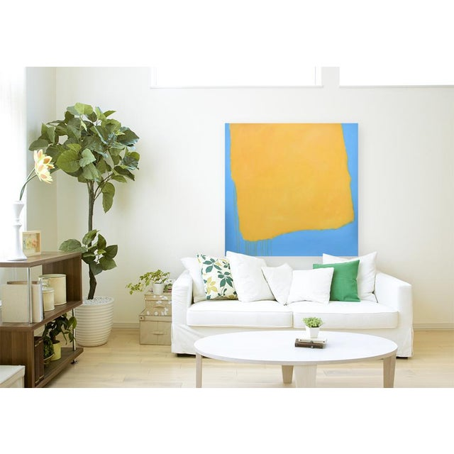 "Stephen Remick ""Crossing Borders"" Large Contemporary Abstract Painting For Sale - Image 9 of 10"