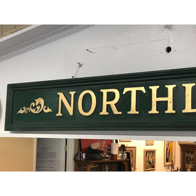 Vintage Northlight Decorative Sign For Sale - Image 4 of 7