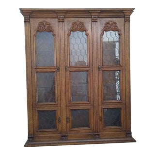 Drexel Solid Cherry China Cabinet