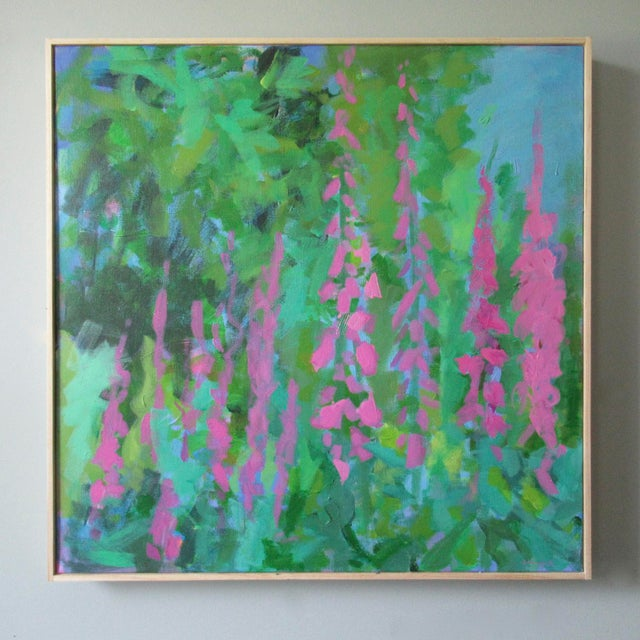 2010s Foxglove by Anne Carrozza Remick For Sale - Image 5 of 6